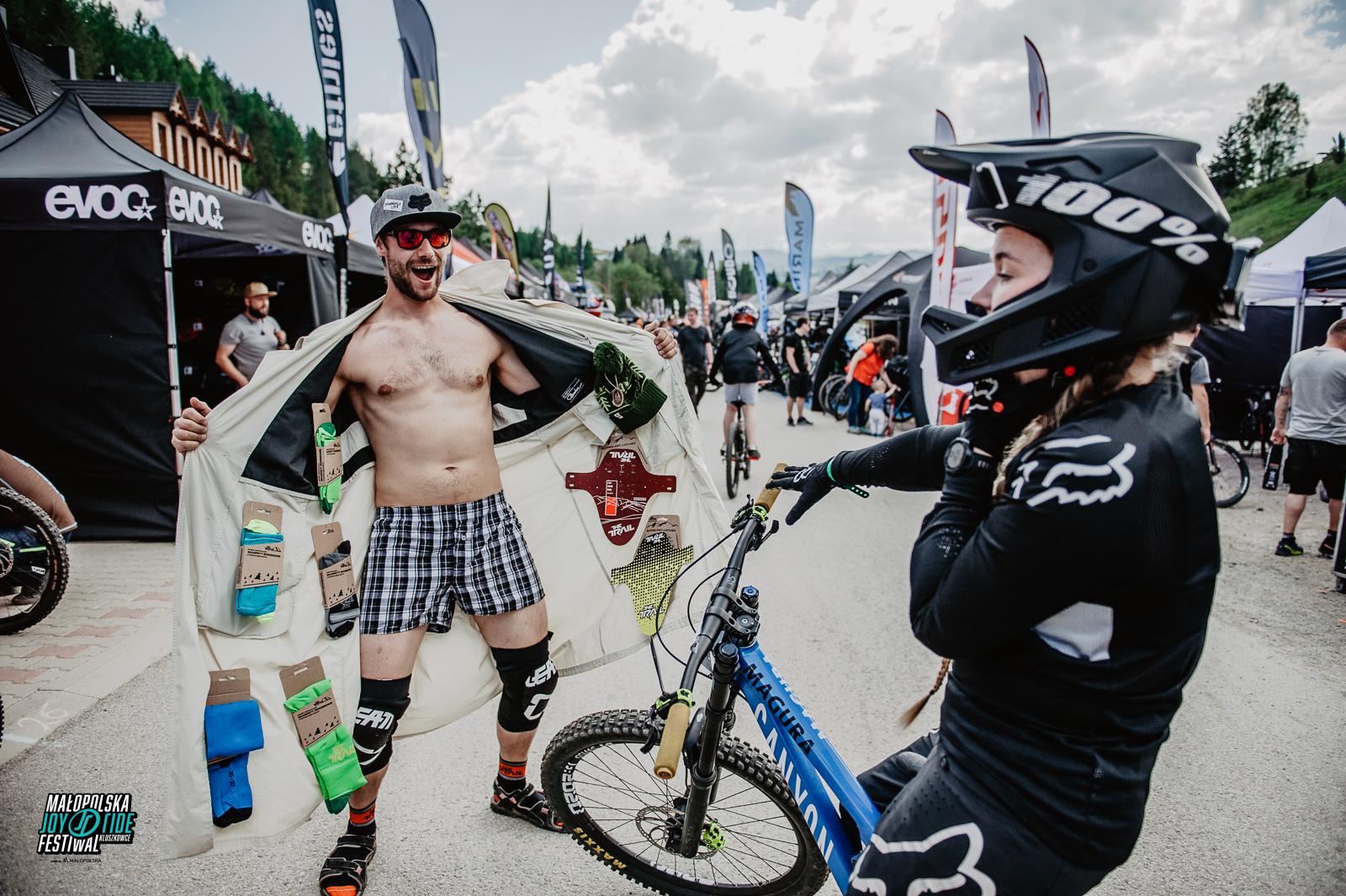 """The Trail: Produkty """"Made in Bielsko Biała"""" na Joy Ride Days w Szczyrku"""